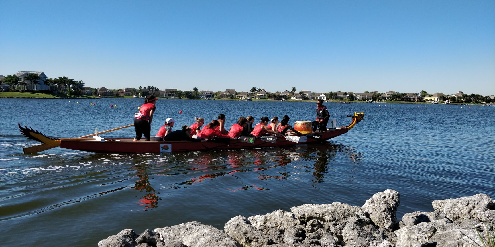 MiraBay Dragon Boat Festival, Apollo Beach, FL | Pan Am